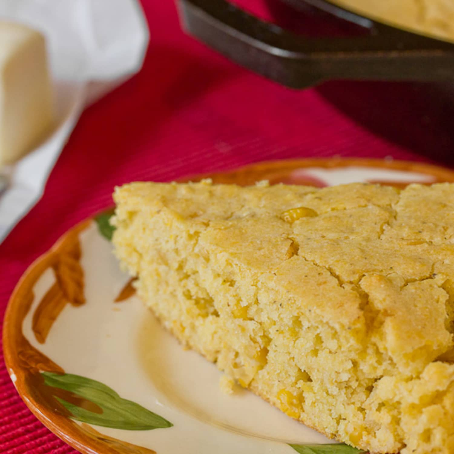 Side Dish Recipe: Easy Skillet Cornbread with Creamed Corn