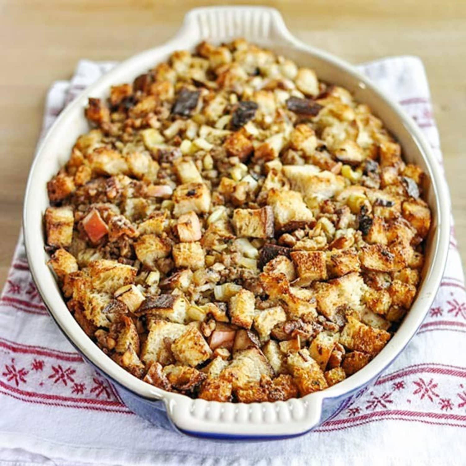 How To Make Bread Stuffing (Dressing) for Thanksgiving
