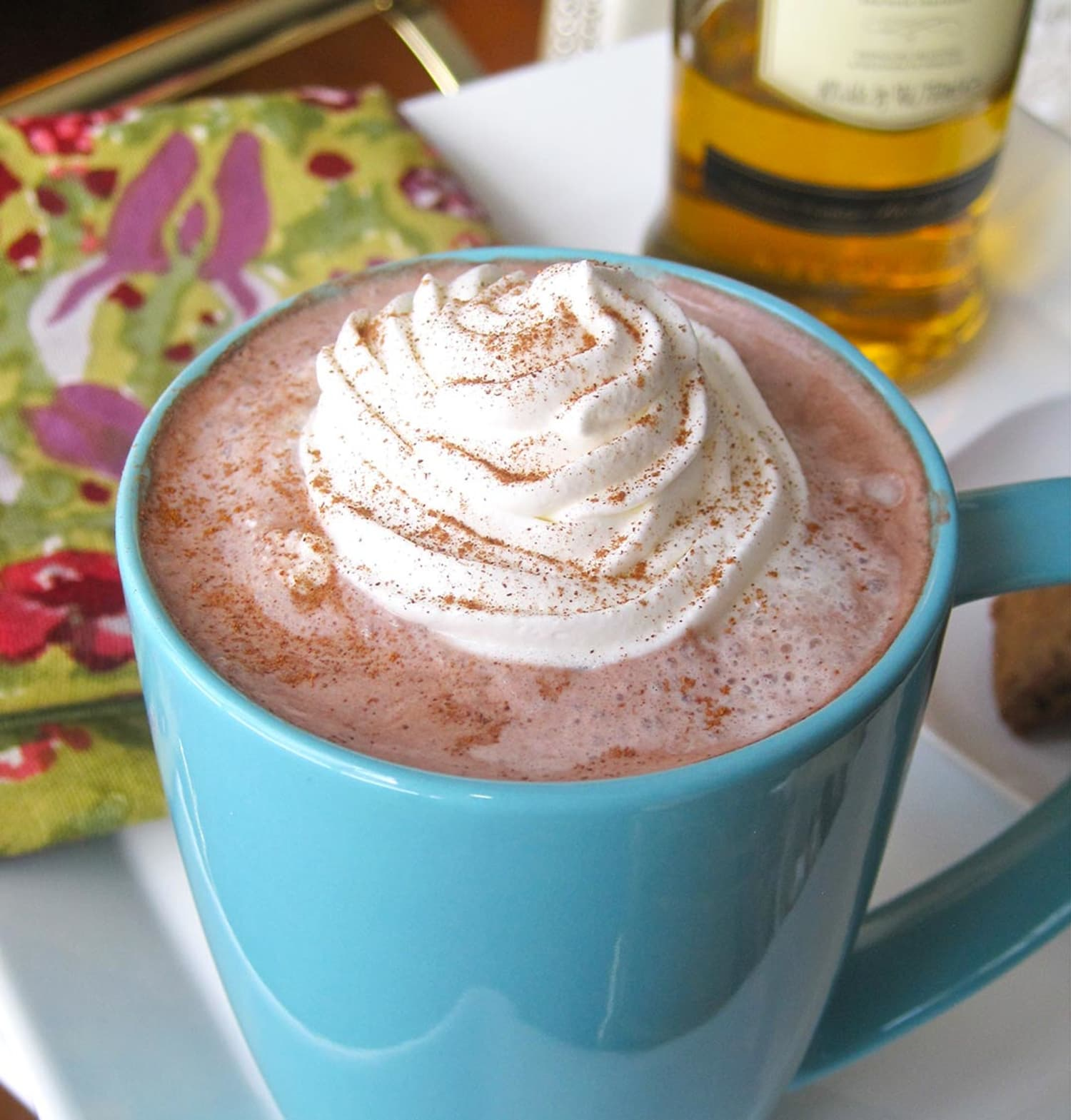 Hot Chocolate and Whiskey? Yes, Please!
