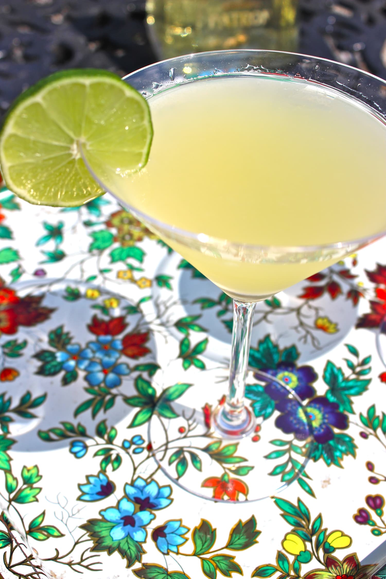Spring Cocktail Recipe: The Perfect Orange-y Margarita