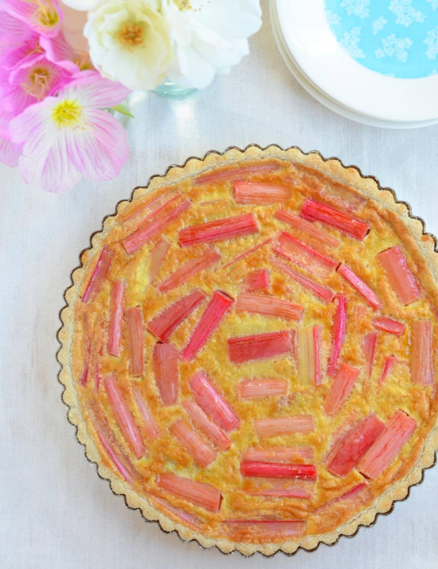 Gluten-Free Recipe: Rhubarb Coconut Honey Tart