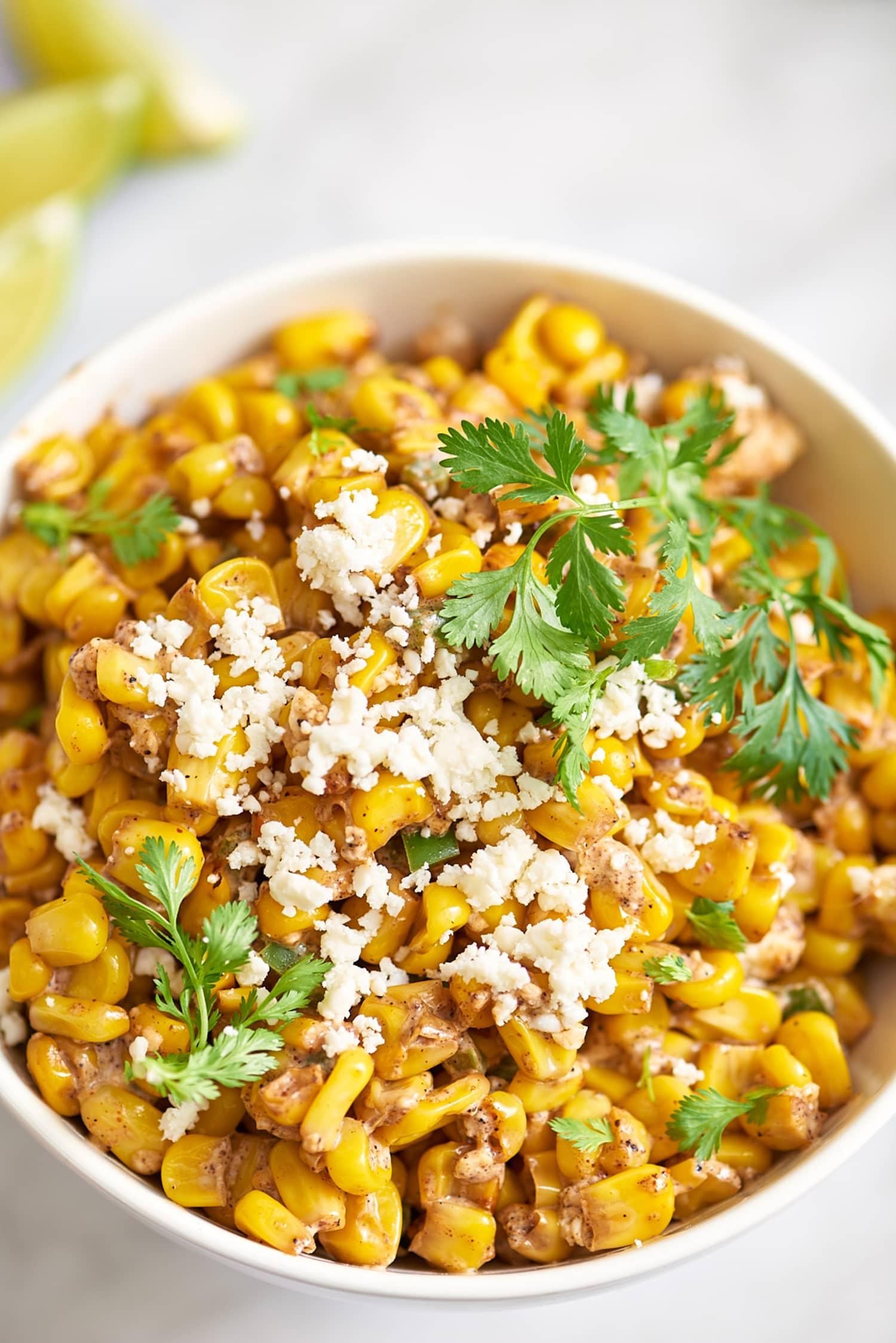 Recipe: Esquites (Mexican Corn Salad)