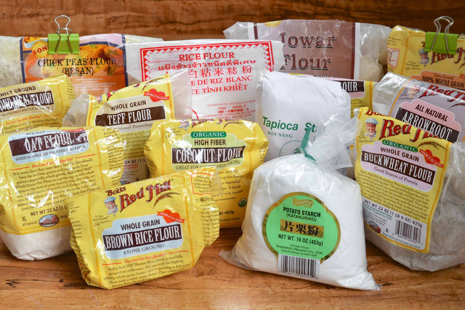 Before & After: How I Organized All My Little Bags of Gluten-Free Flour