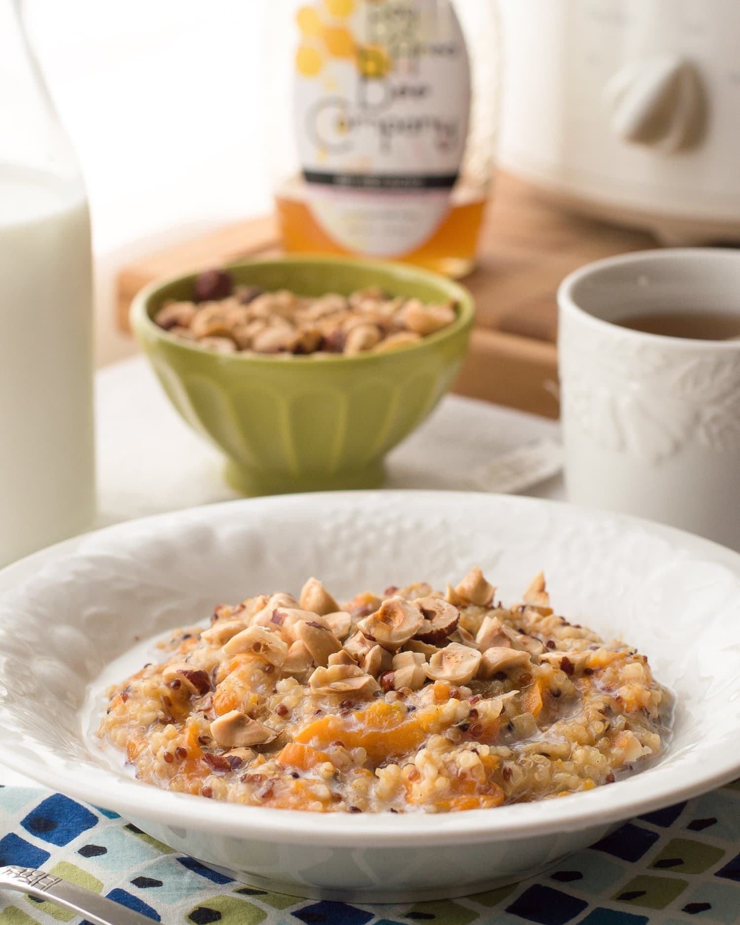 Slow Cooker Oatmeal with Honey & Fruit Is the Ultimate Comfort Food