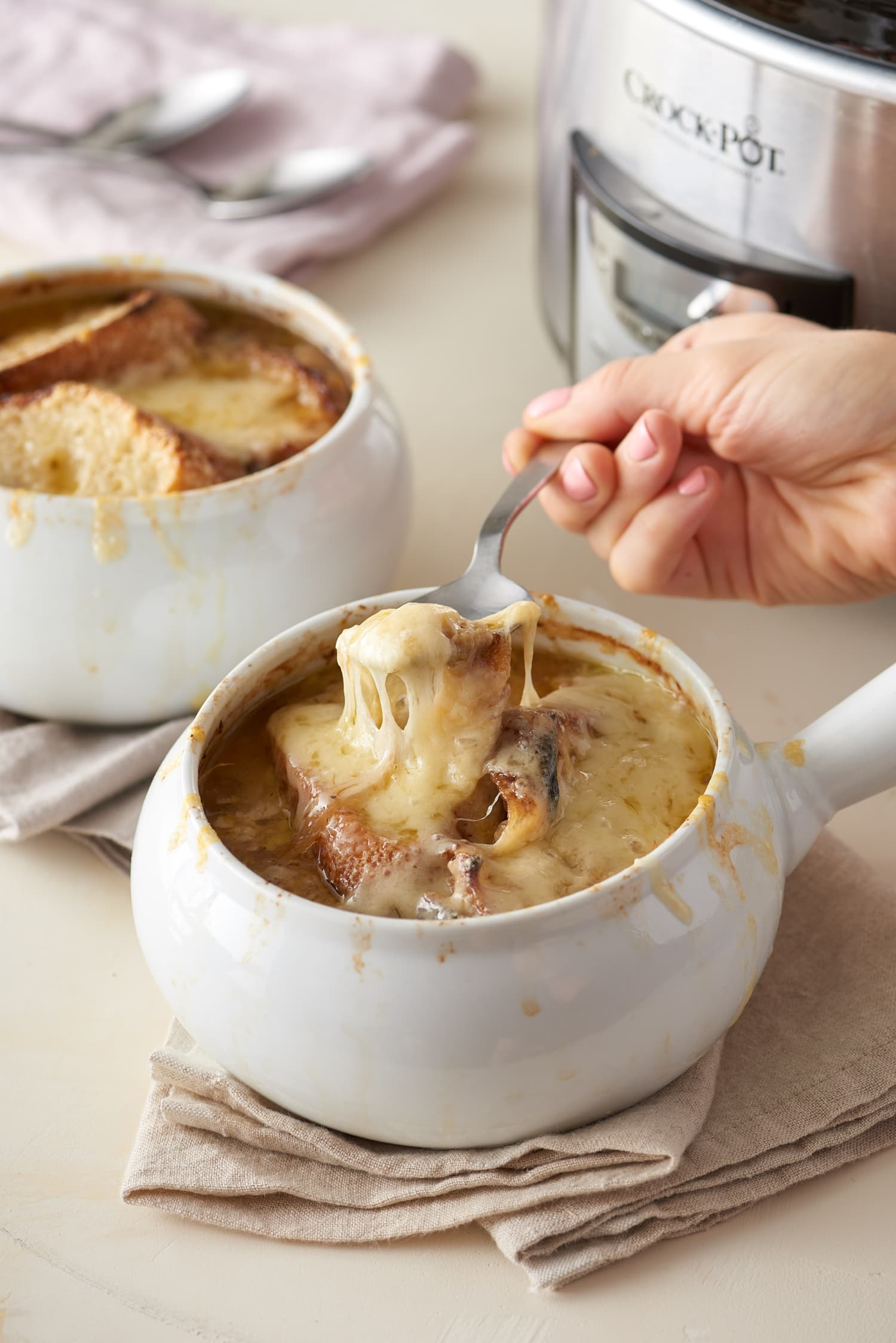 "This Slow Cooker French Onion Soup Is ""Blissfully Delicious"""