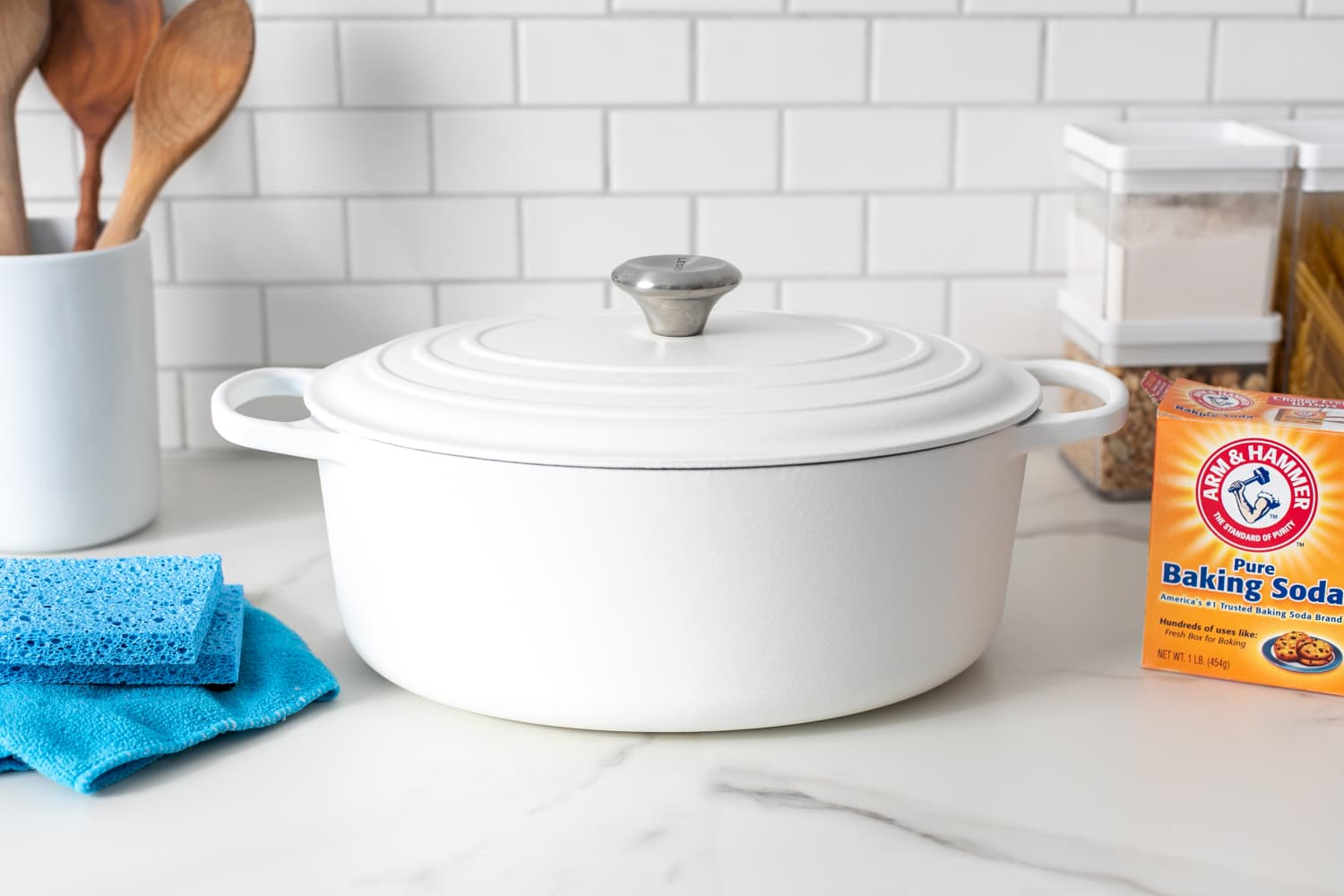 How To Clean Burnt-On Stains Off Enameled Cookware