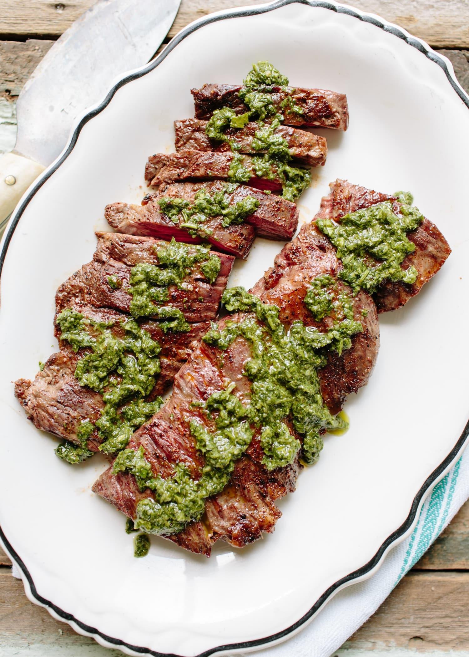 Recipe: Skirt Steak with Chimichurri