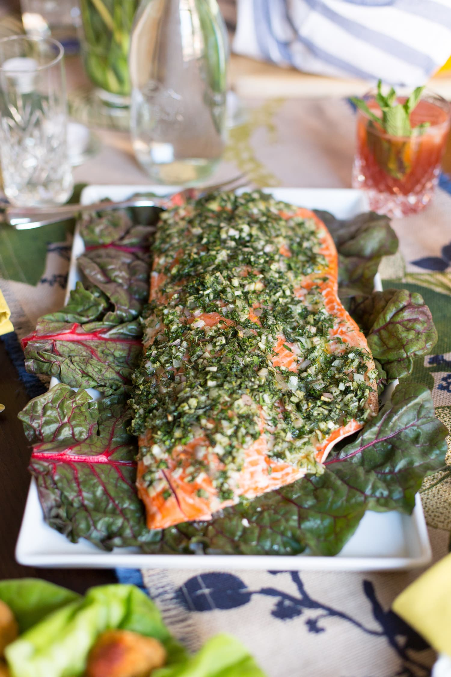 Recipe: Foolproof Salmon Baked with Olive Oil & Herbs