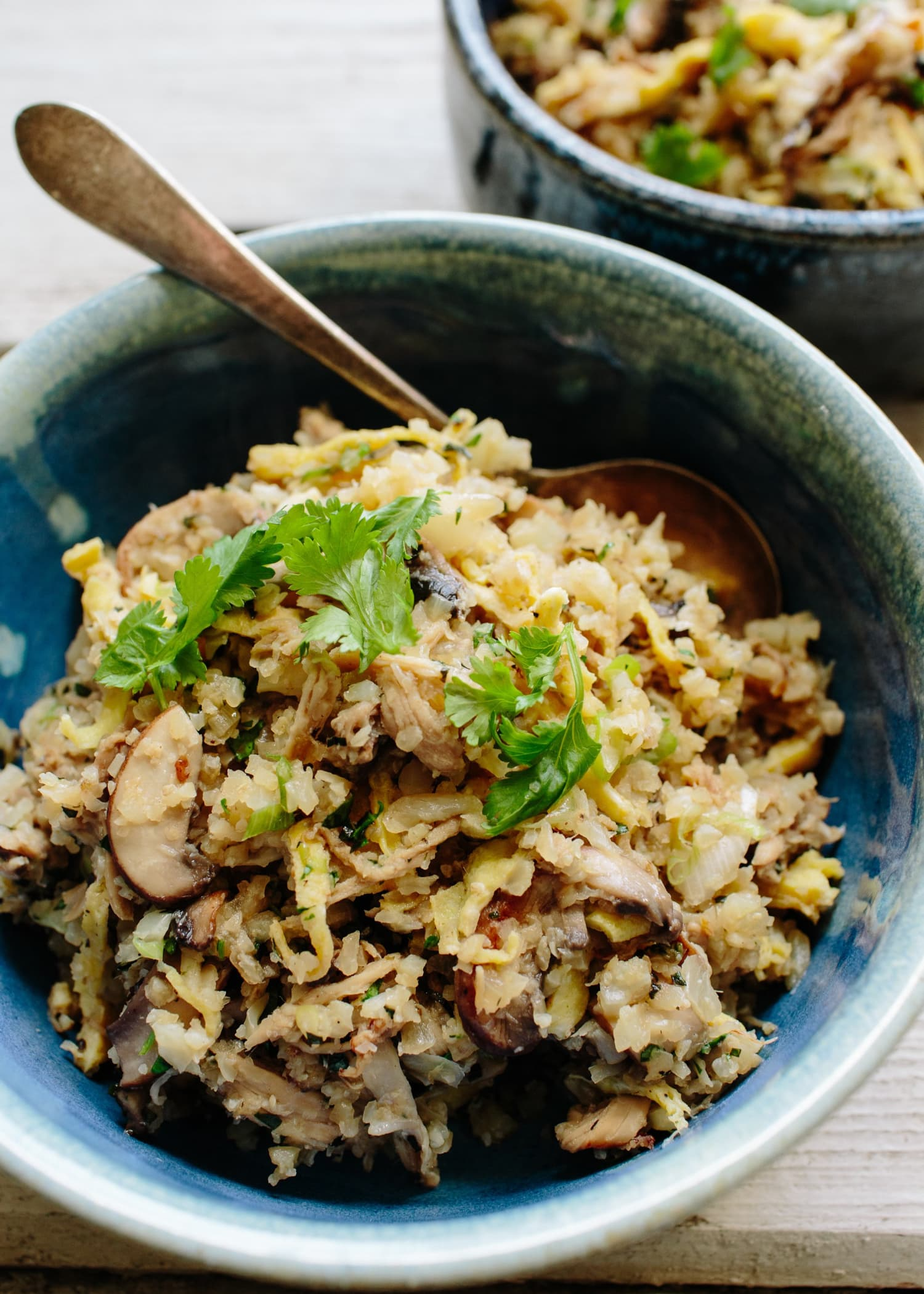 Cauliflower Fried Rice with Kalua Pork Is the Perfect One-Skillet Meal