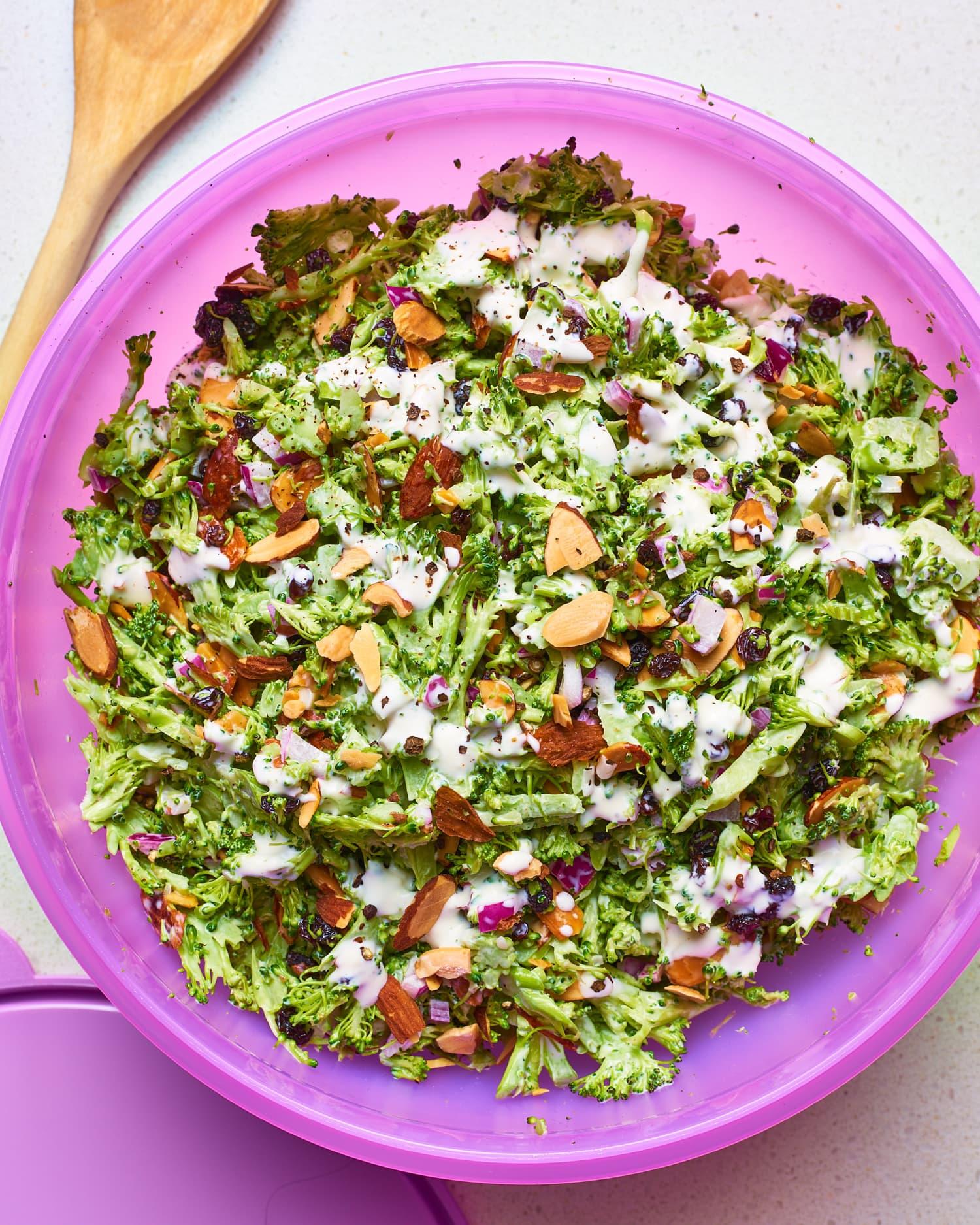 Recipe: Light & Easy Broccoli Salad