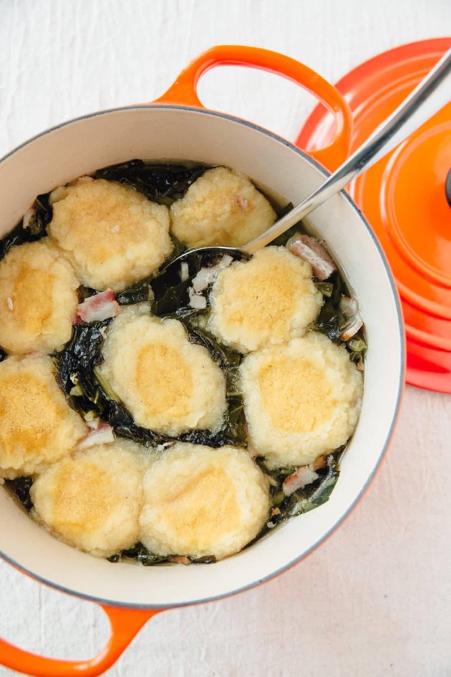 Recipe: Collard Greens with Pot Likker and Dumplings