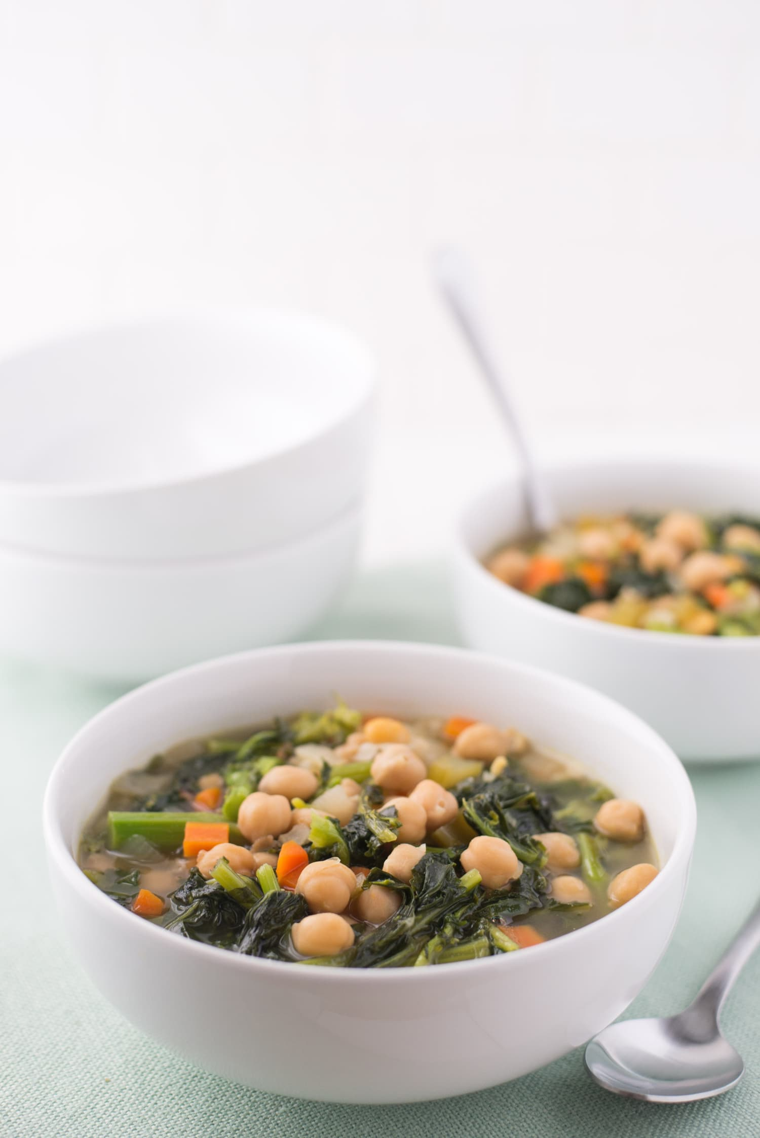 Recipe: Alice Waters' Chickpea and Broccoli Rabe Soup