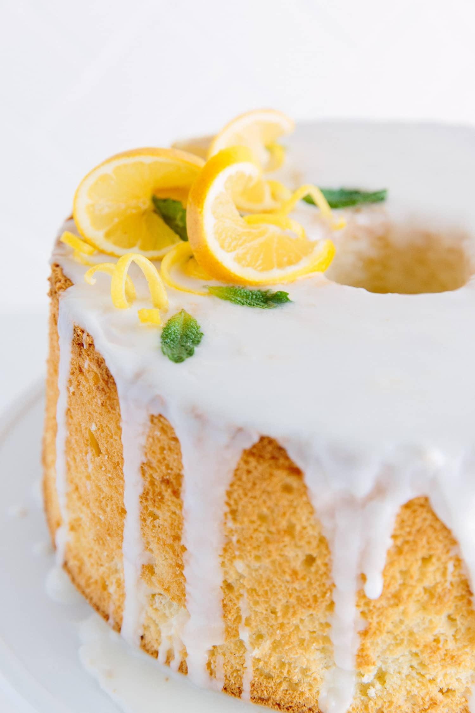 Recipe: Meyer Lemon-Olive Oil Chiffon Cake