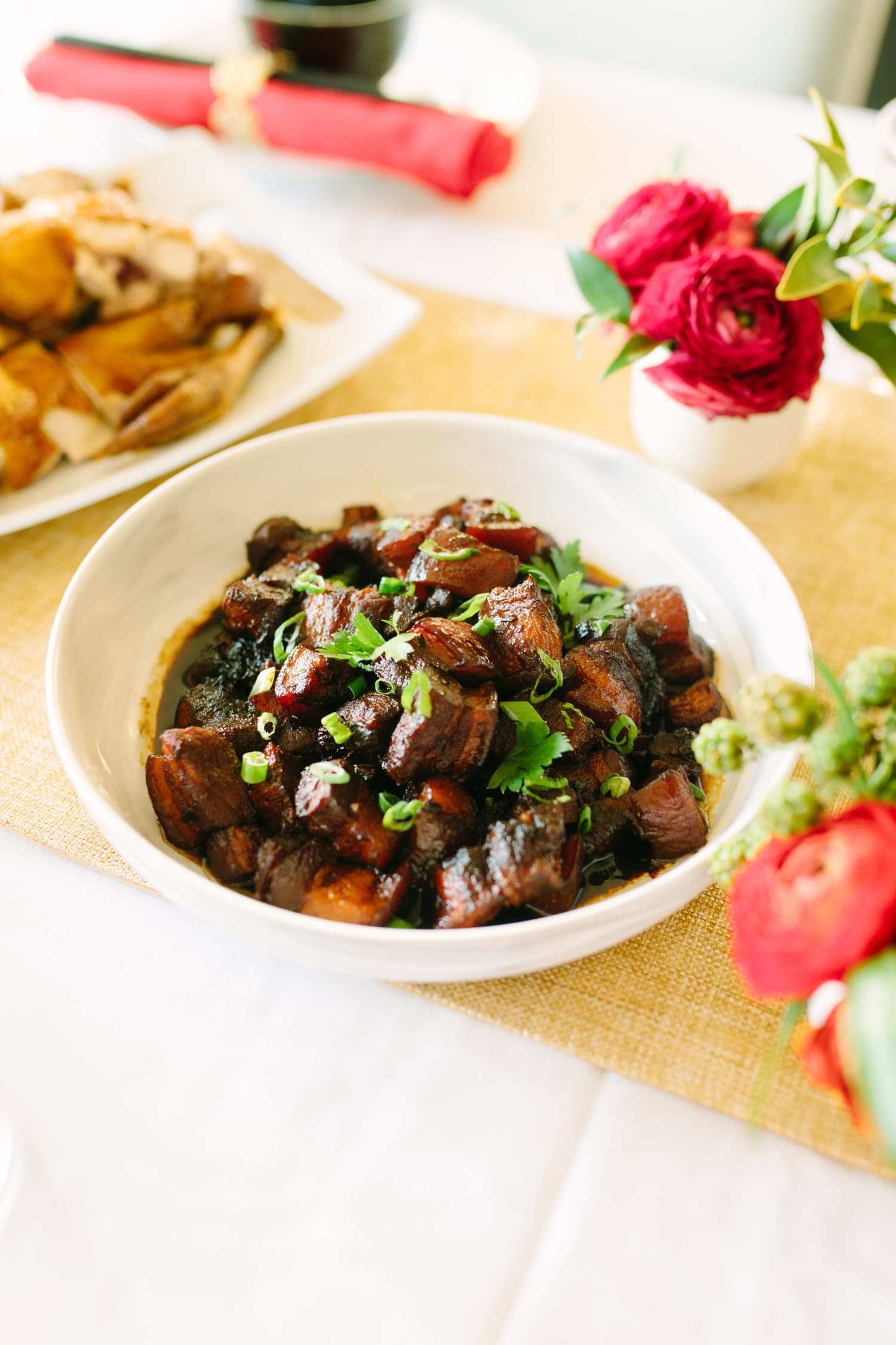 Chairman Mao's Red-Braised Pork Belly (Hong Shao Rou)