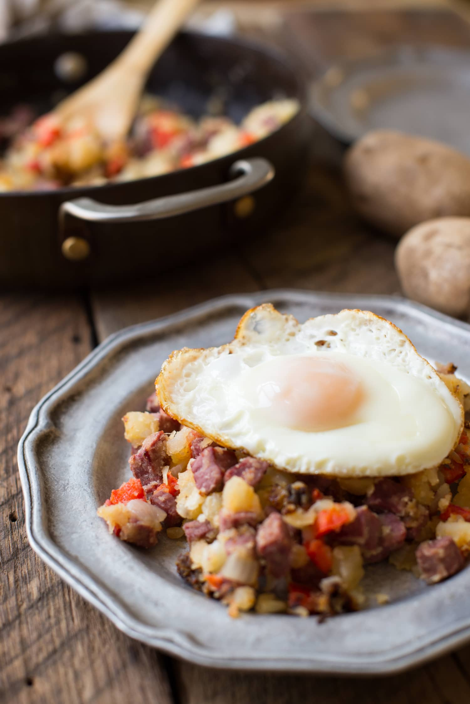 Start the Day Right with This Classic Corned Beef Hash