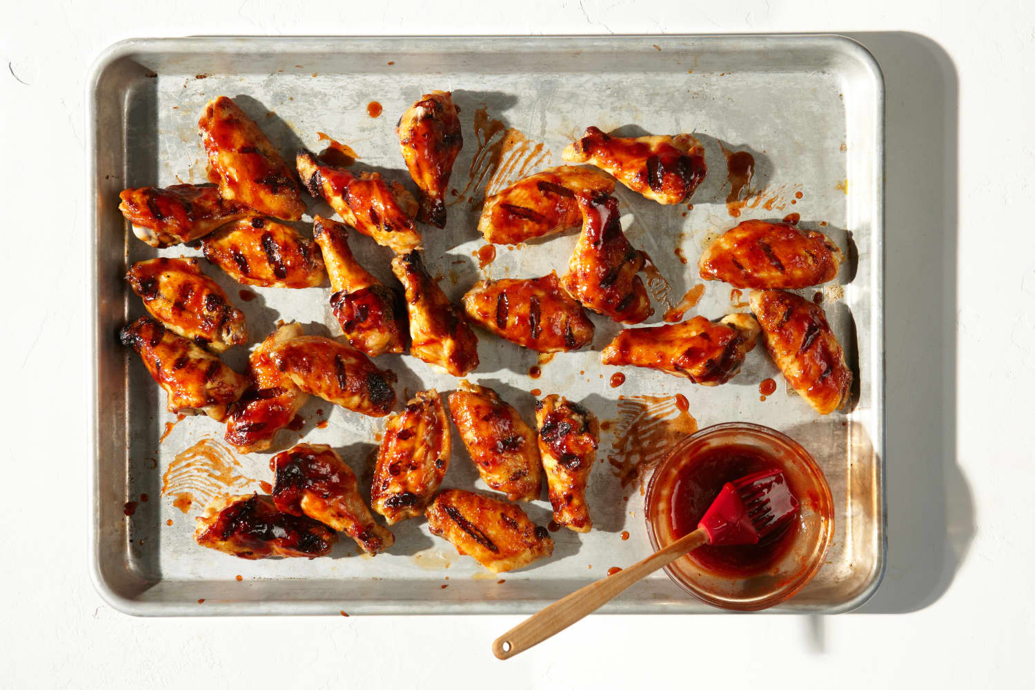 Recipe: Grilled BBQ Chicken Wings
