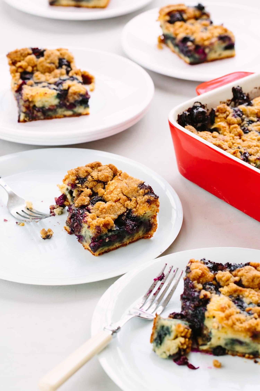 Recipe: Blueberry Pancake Casserole