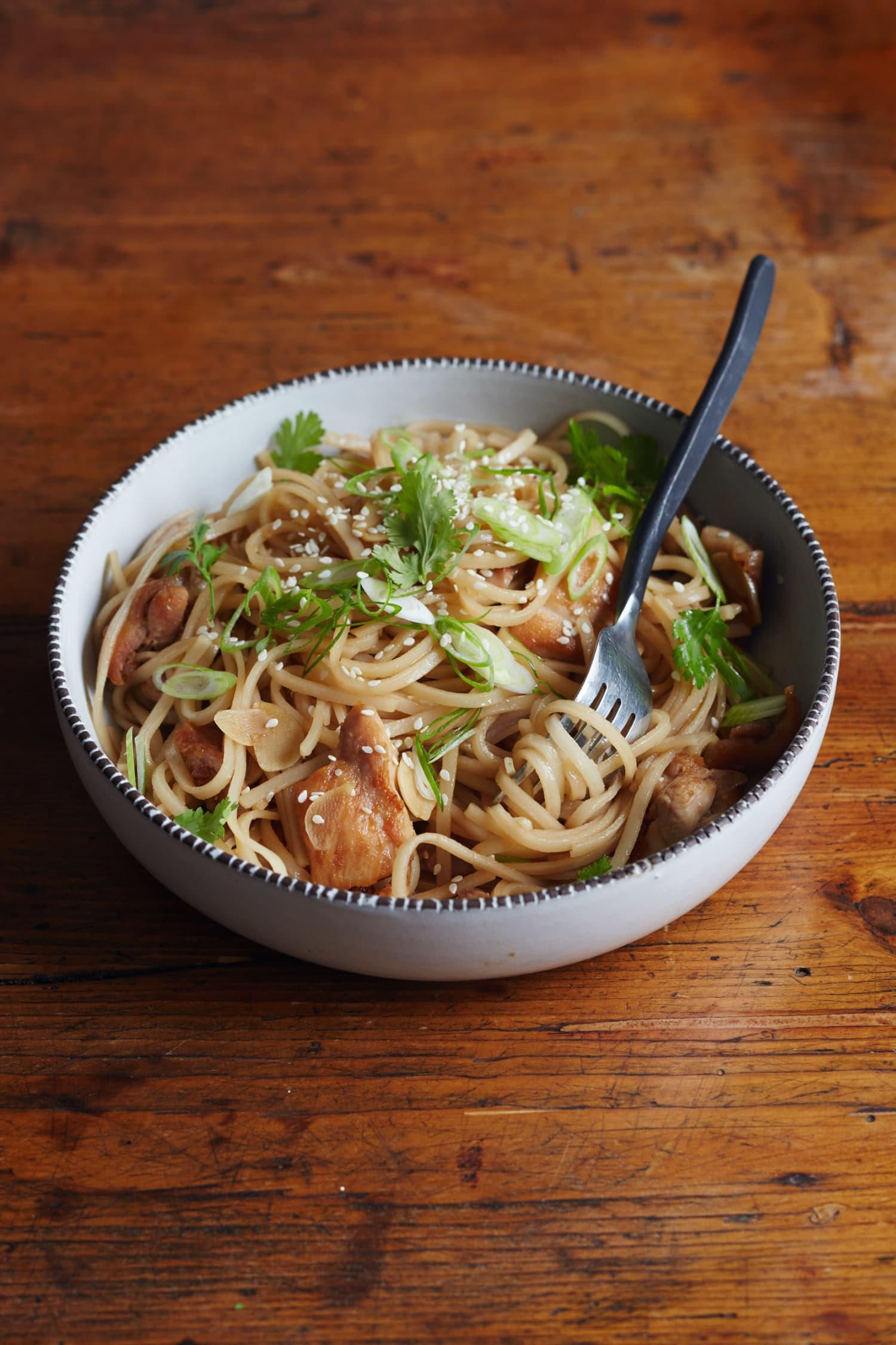 Recipe: Sesame Chicken Noodle Bowl