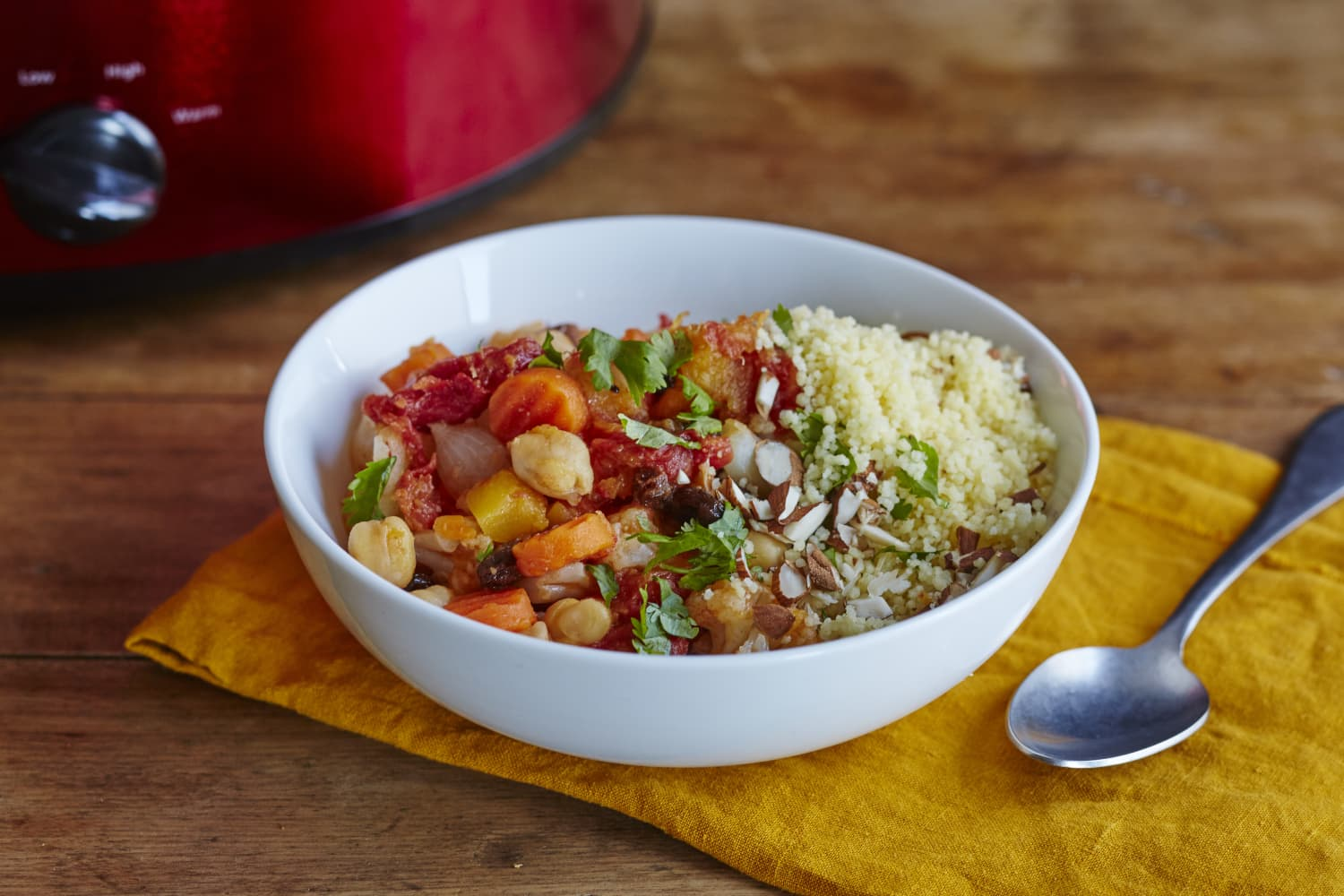 Recipe: Freezer-to-Slow-Cooker Vegetable Tagine