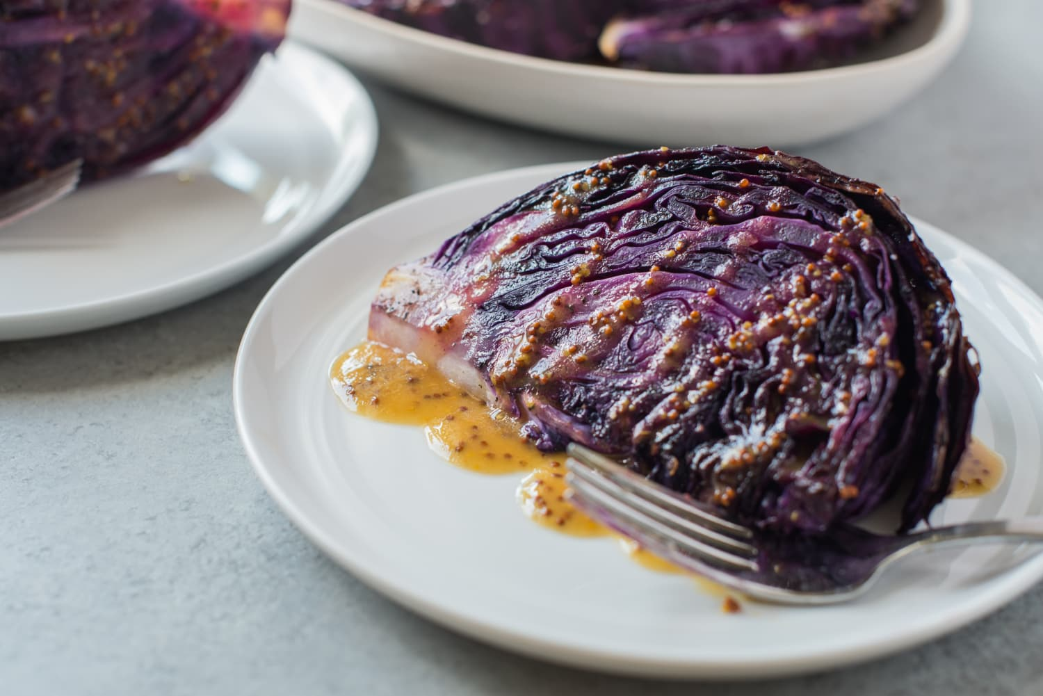 Roasted Cabbage with Mustard Vinaigrette Is the Side Dish That Steals the Show