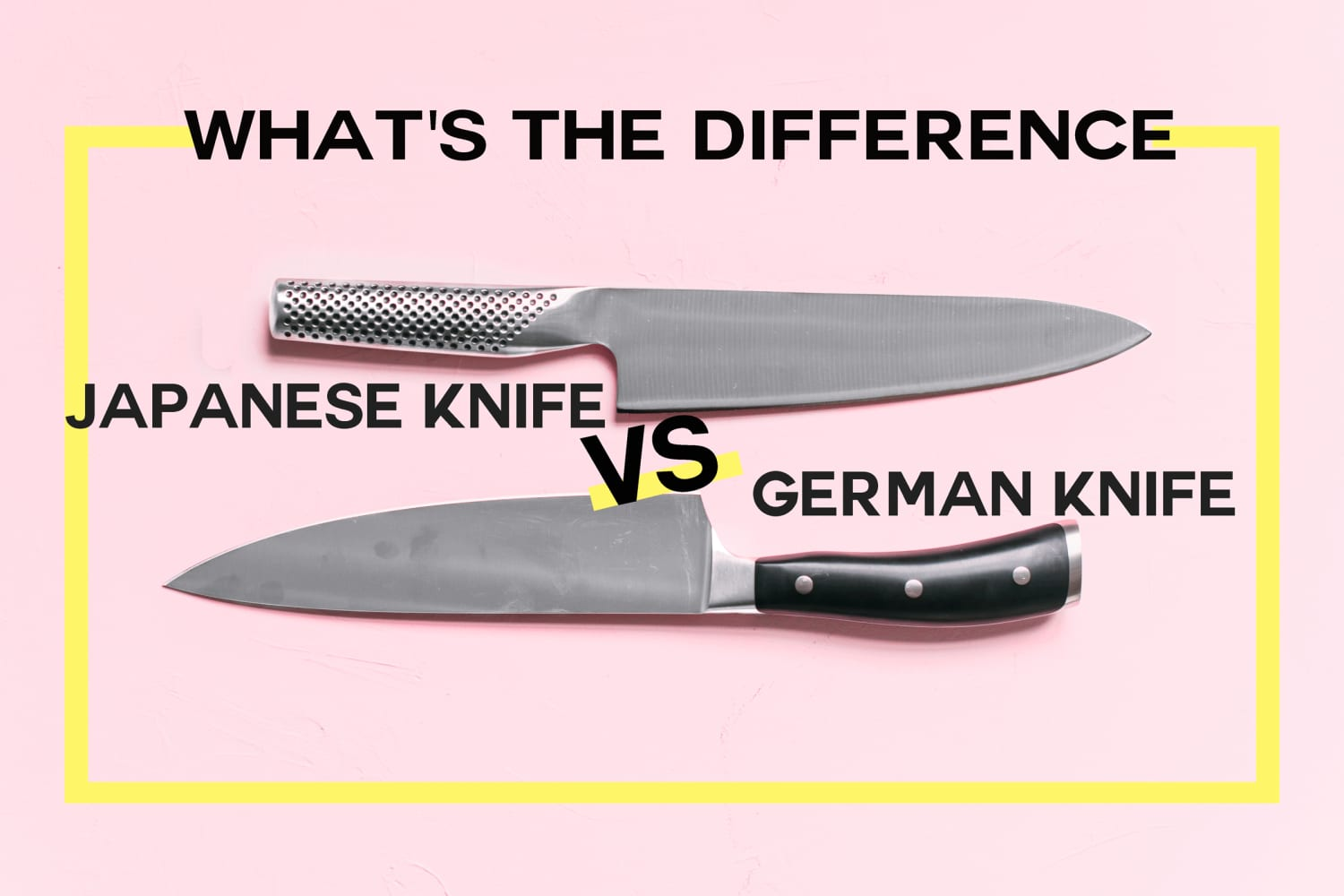 What's the Difference Between German and Japanese Knives?