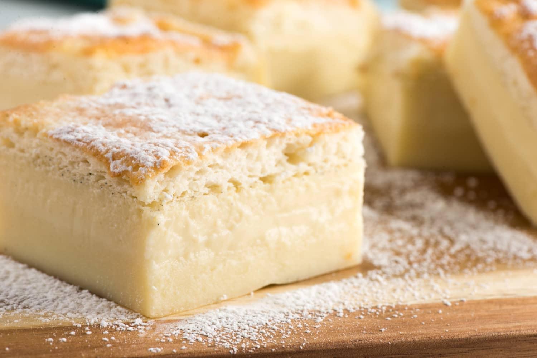 How To Make Vanilla Magic Cake