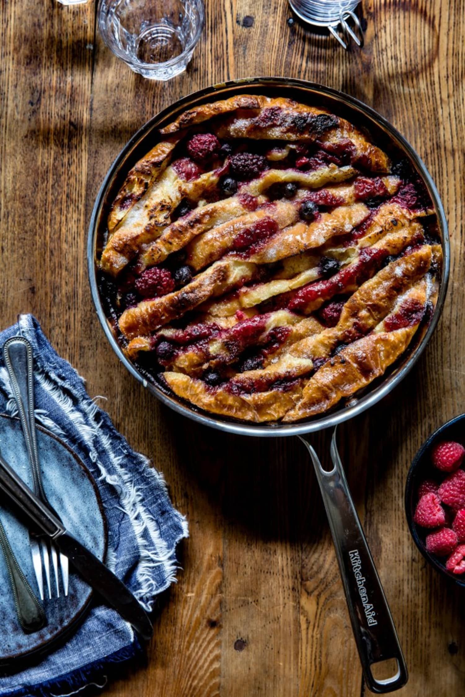 Croissant Bread Pudding Is the Ultimate Brunch Win