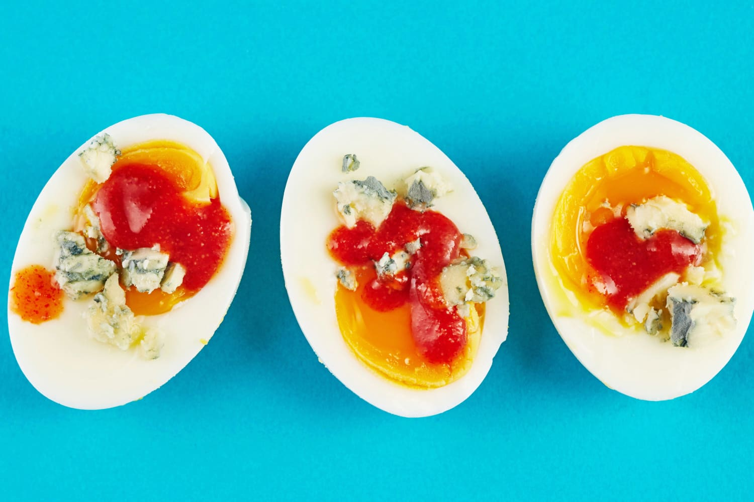 A Hot and Saucy Upgrade for Hard-Boiled Eggs