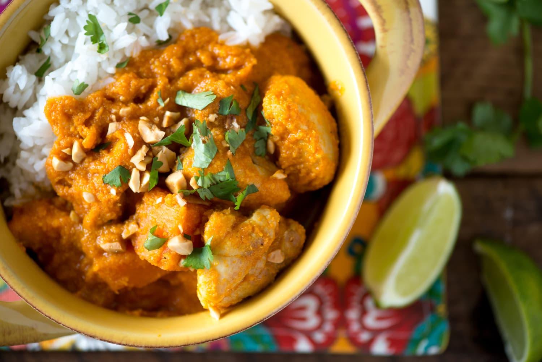 Recipe: Coconut Chicken and Sweet Potato Stew