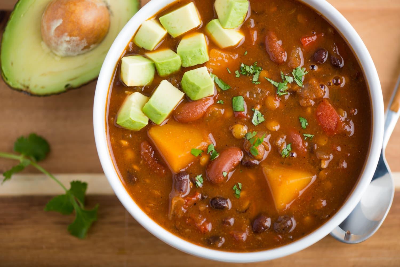 Recipe: Slow-Cooker Vegan Lentil Chili