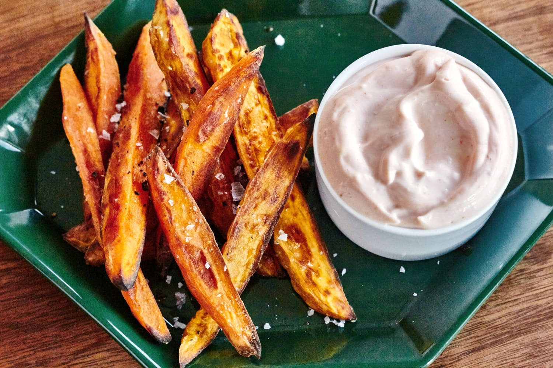 How To Make Crispy Baked Sweet Potato Fries