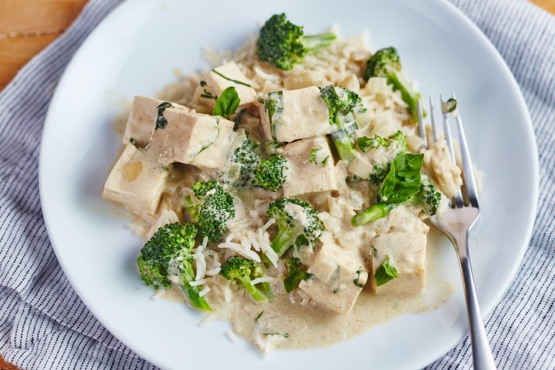 Recipe: Tofu and Broccoli Green Curry