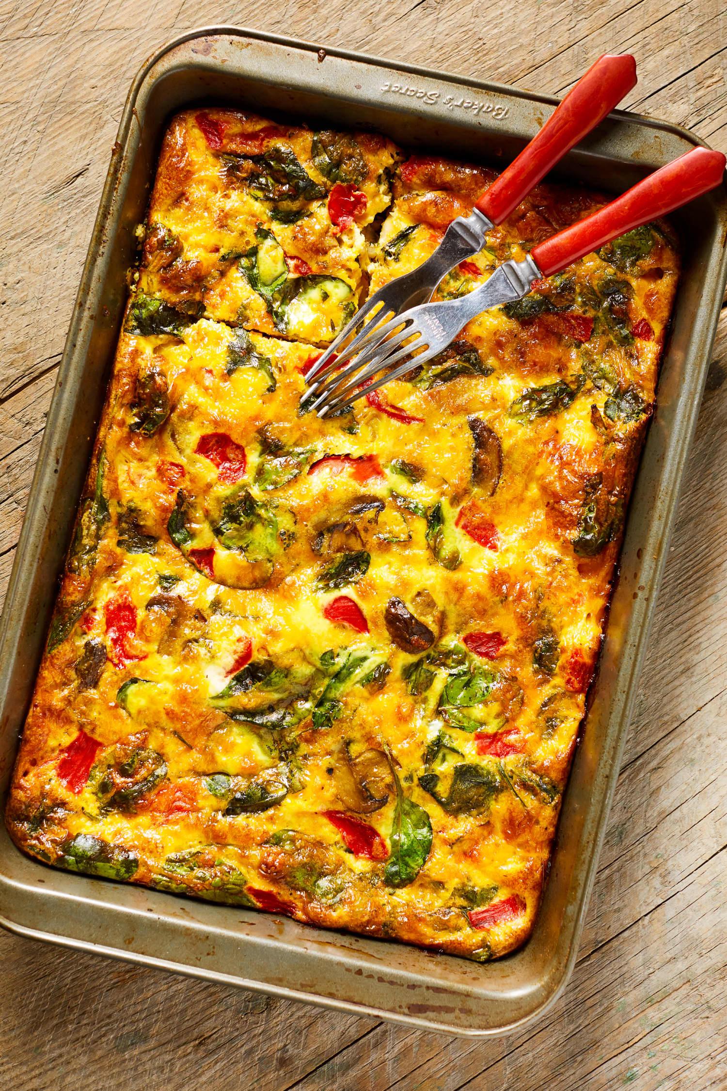 Vegetable Supreme Egg Bake Is For The Vegetable Lovers
