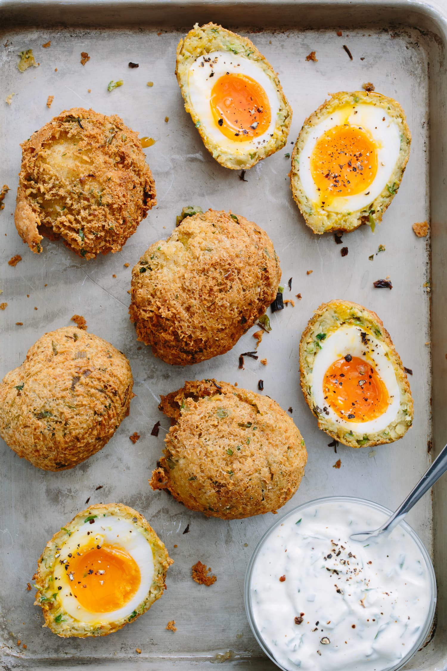 These Falafel Scotch Eggs Are Absolutely Egg-cellent