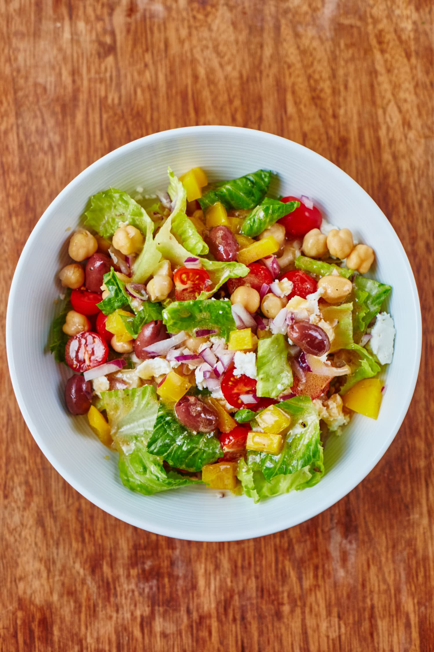 Recipe: Chopped Chickpea Salad