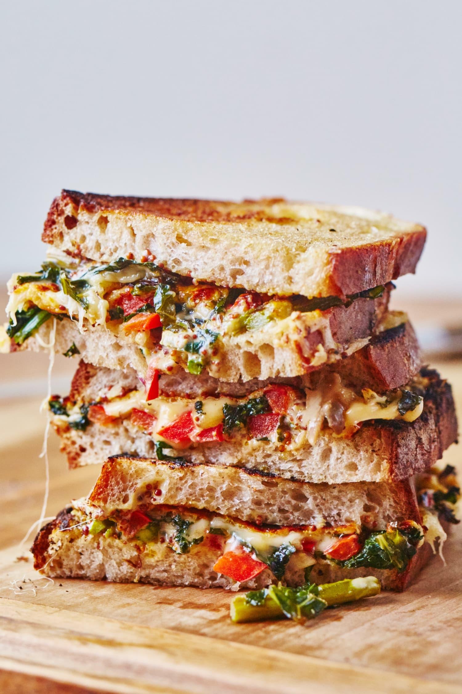Sandwich Recipes cover image