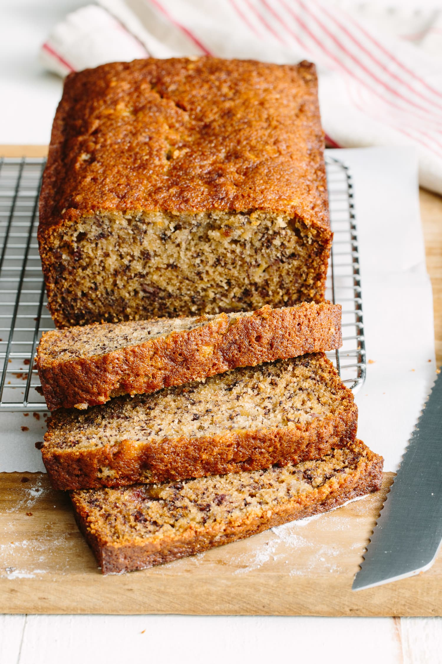 This Moist & Cakey Banana Bread Will Be Your New Go-To