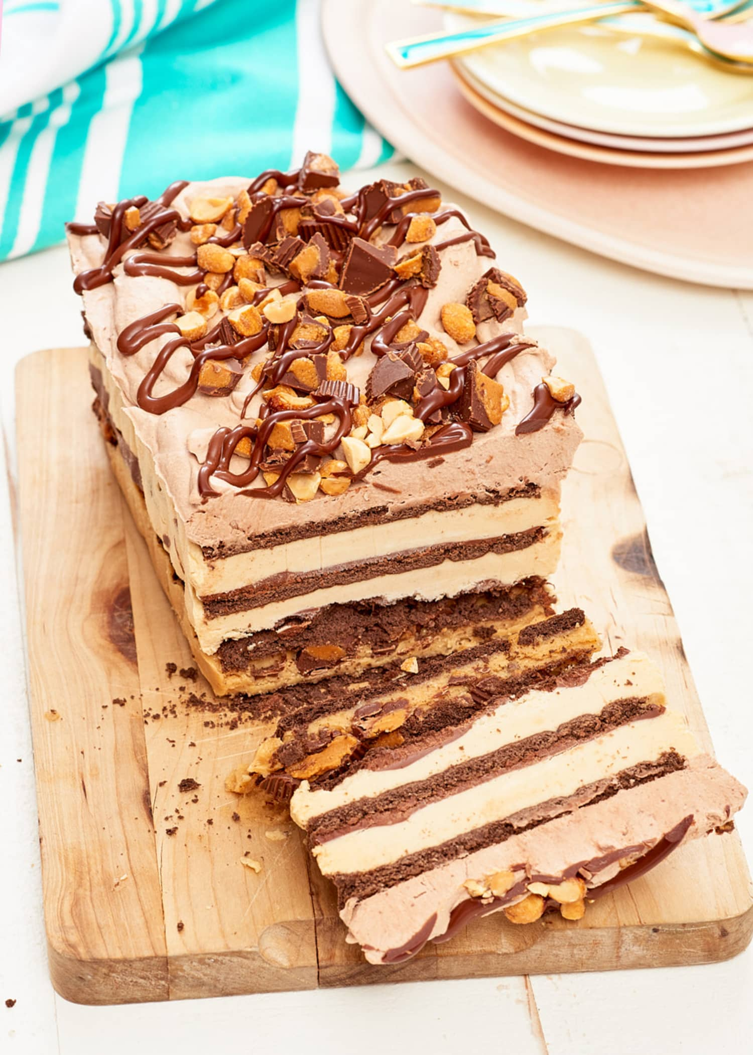 Recipe: Peanut Butter Chocolate Icebox Cake