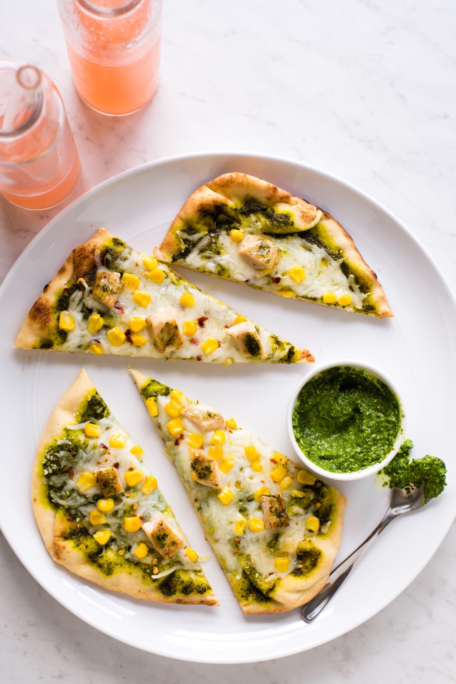 Recipe: Grilled Pesto Chicken Flatbreads