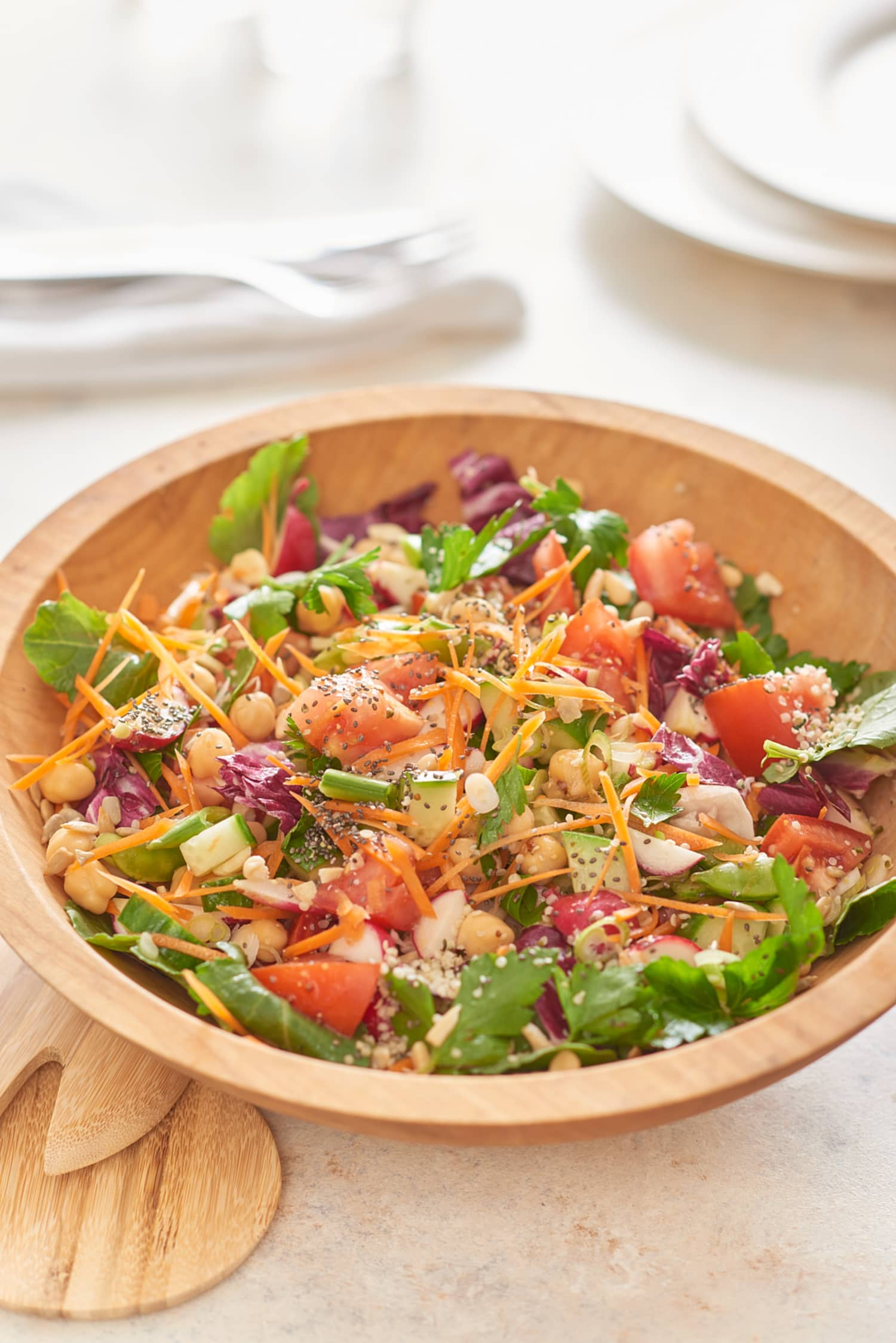 Recipe: Make-Ahead Chicken and Veggie Chopped Salad