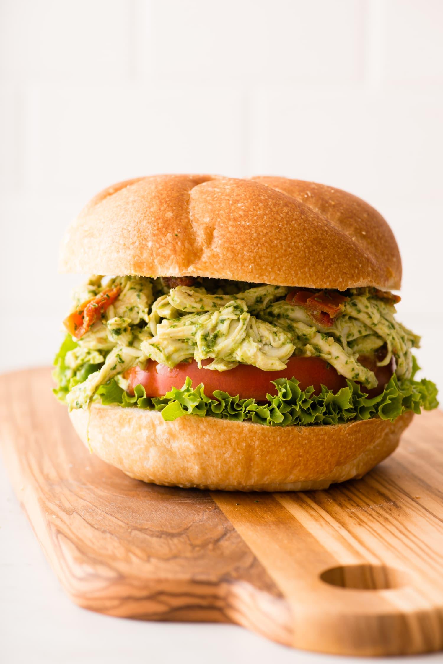 Recipe: The Best Pesto Chicken Salad