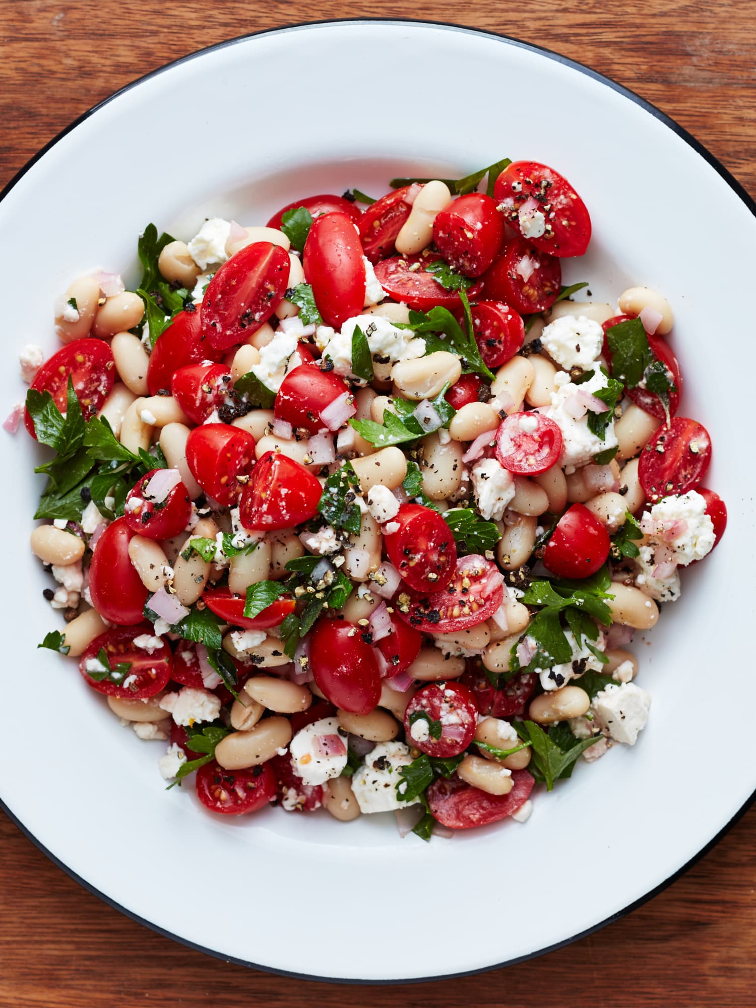 Recipe: Tomato and Feta White Bean Salad