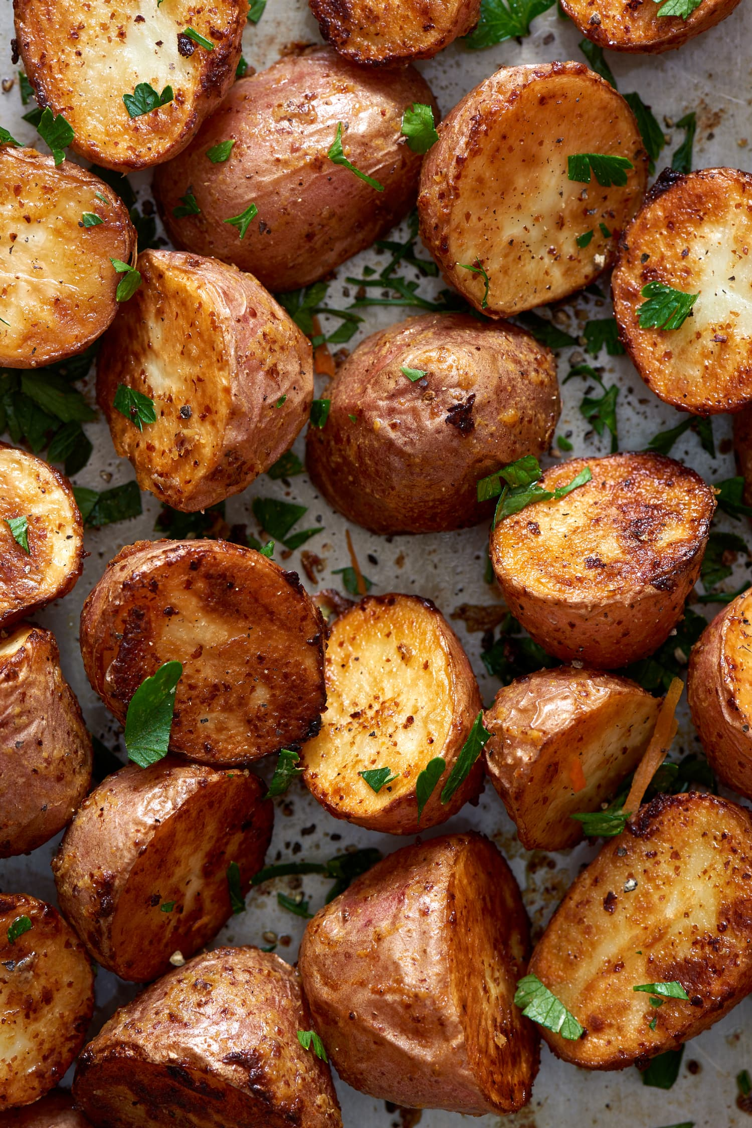 3-Ingredient Dijon Roasted Potatoes That Go with Everything