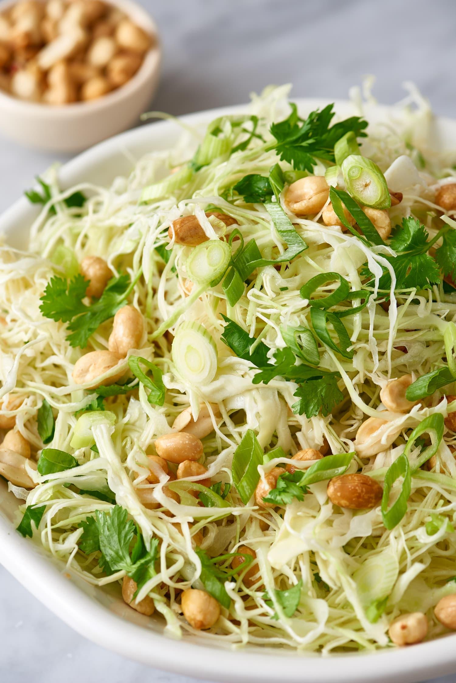 Recipe: Crunchy Cabbage & Peanut Slaw