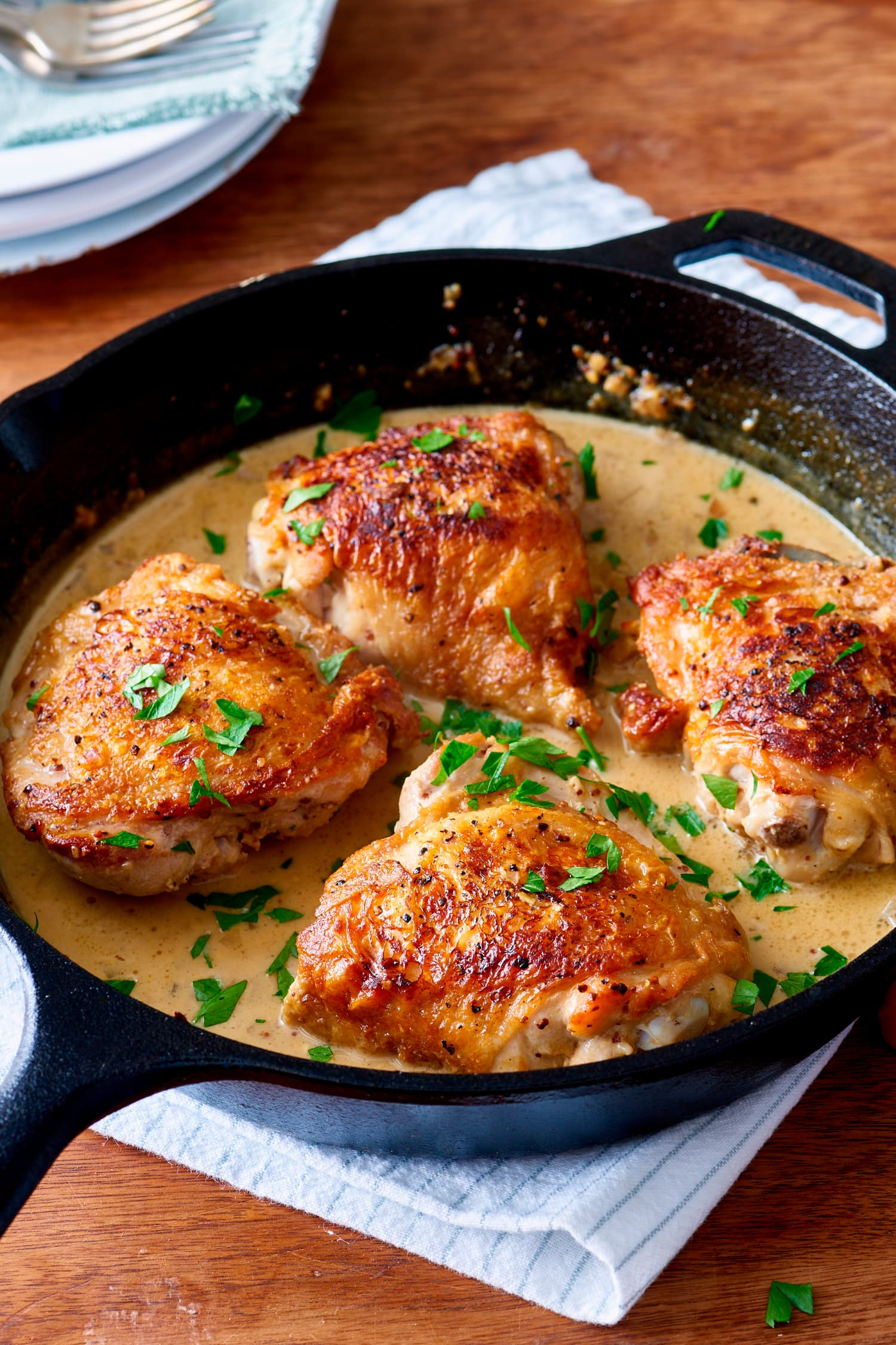 Recipe: Creamy French Mustard Chicken