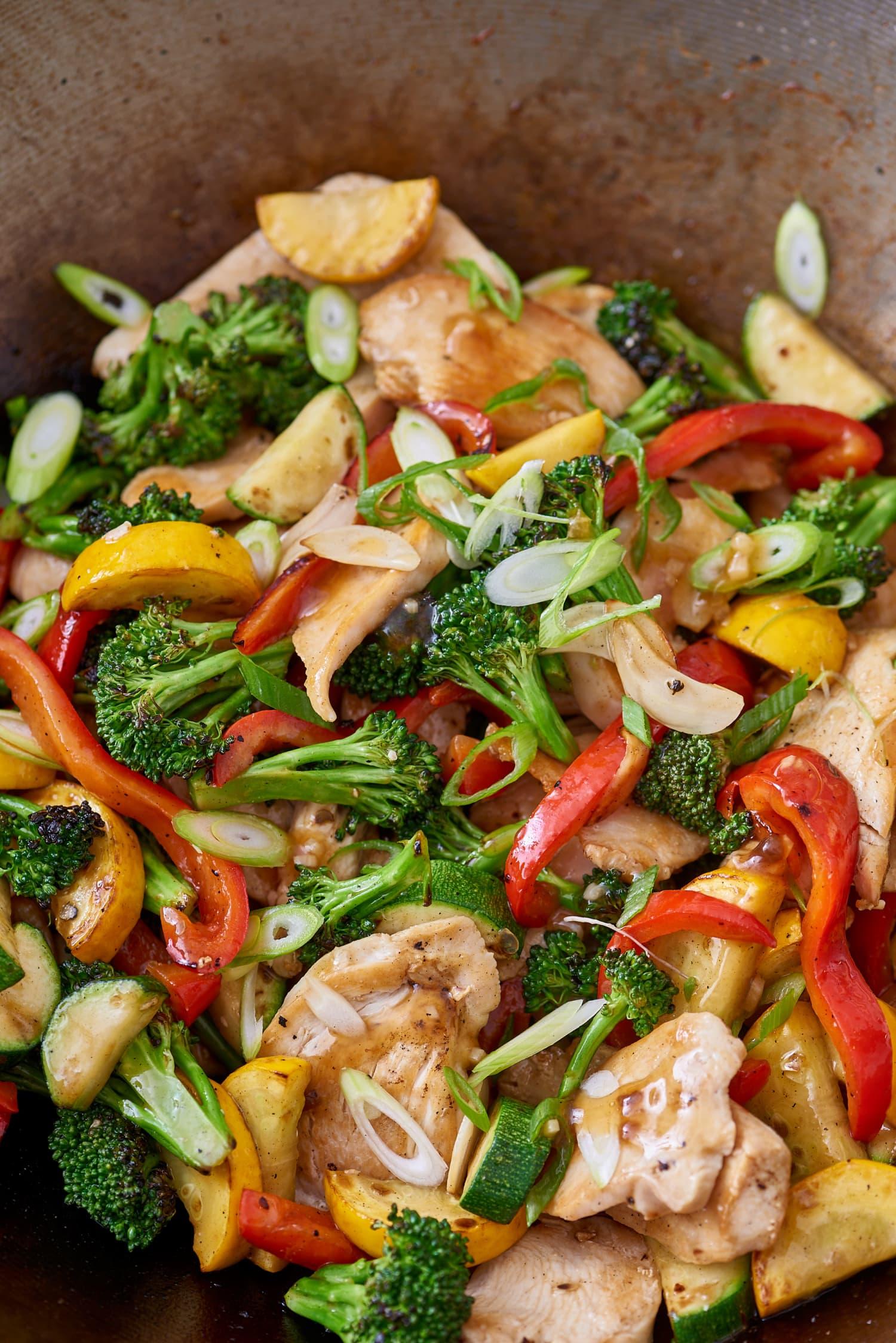 Recipe: Honey-Garlic Chicken Stir-Fry