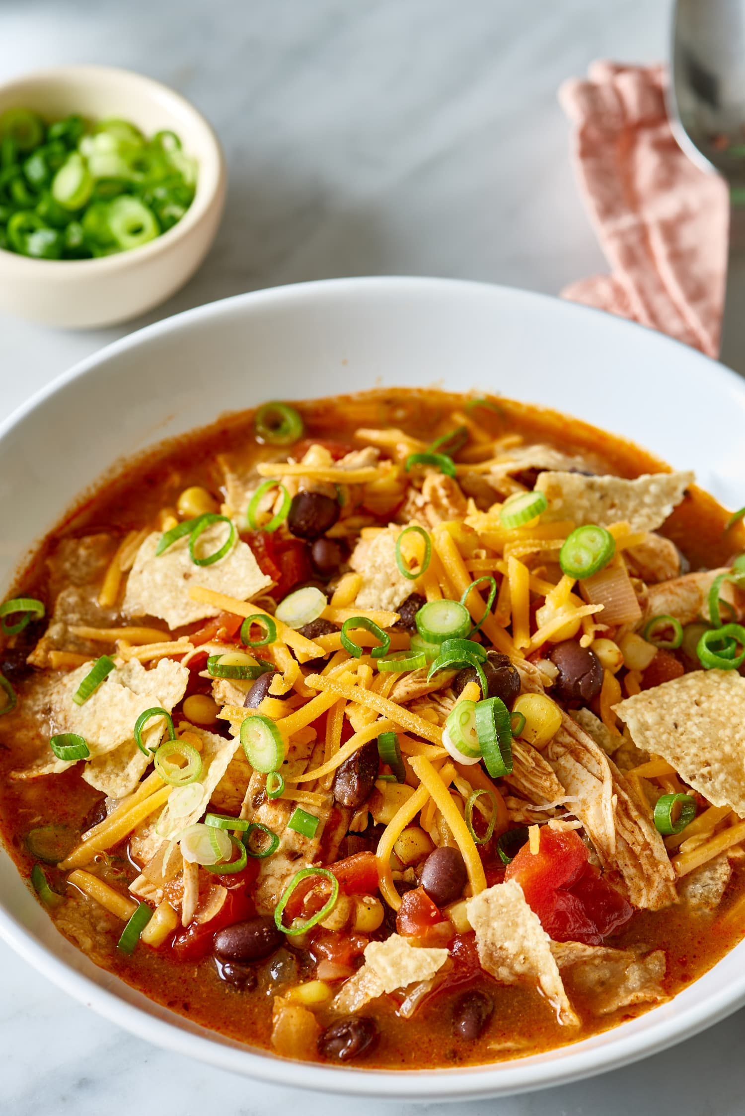 This Chicken Taco Soup Brings the Smoke and Spice in Just 30 Minutes