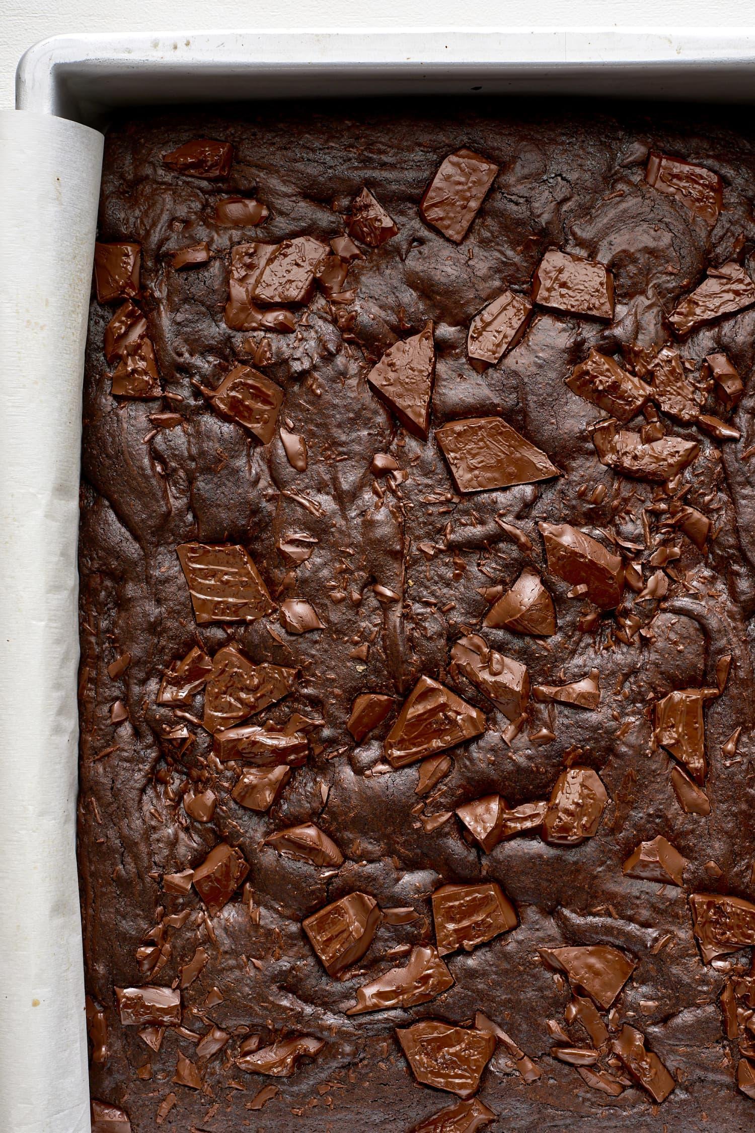 Molten Midnight Brownies