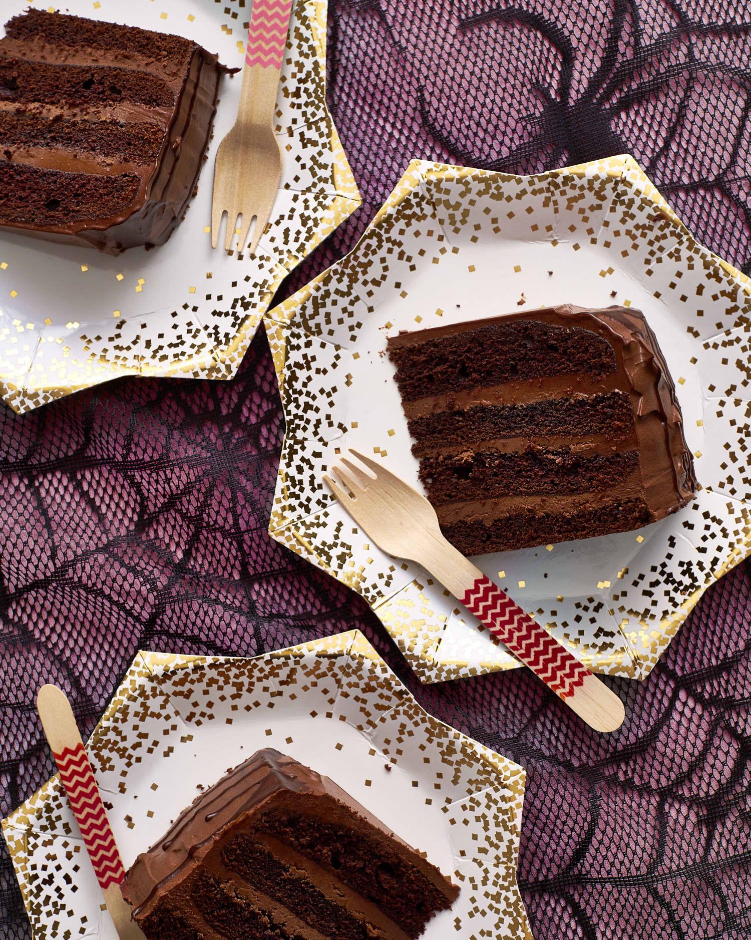 How To Make the Deepest, Darkest Chocolate Cake