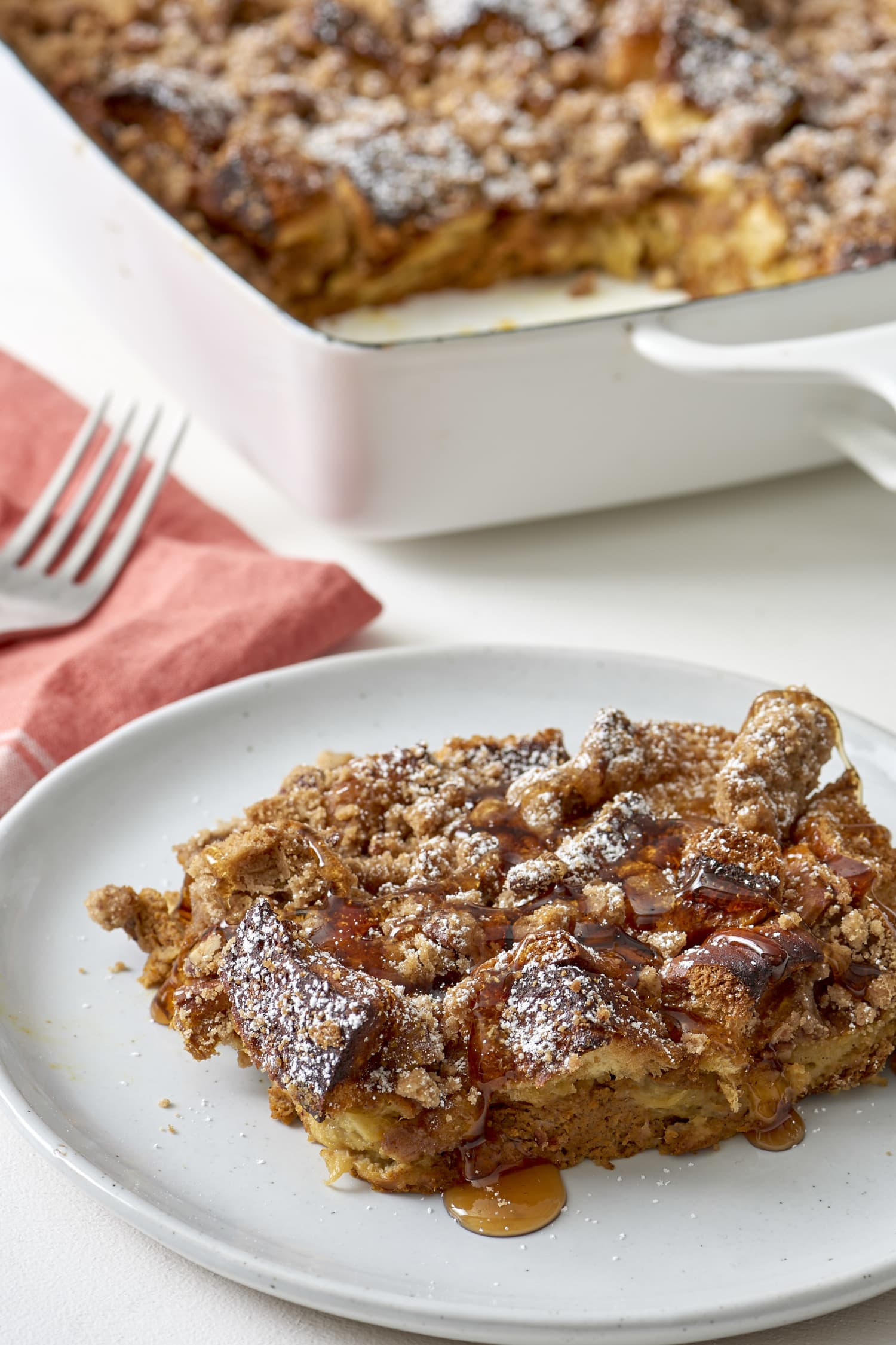 Recipe: Make-Ahead Pumpkin French Toast Casserole